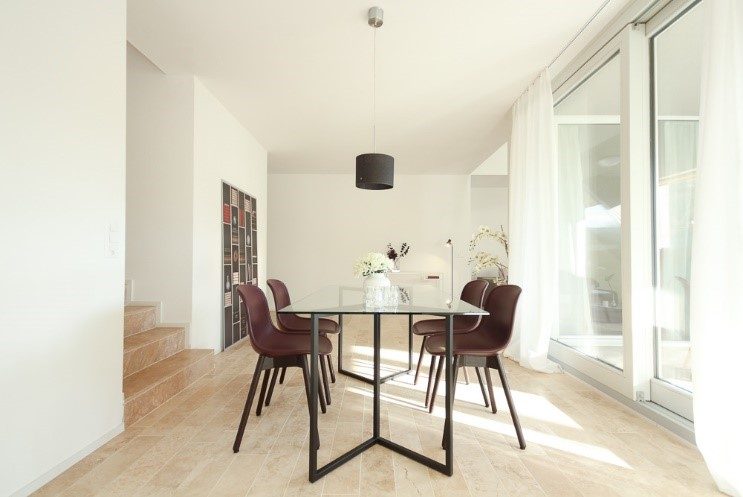 Projekte modernes Esszimmer vorher Baselland - Projekt der SWISS HOME STAGING