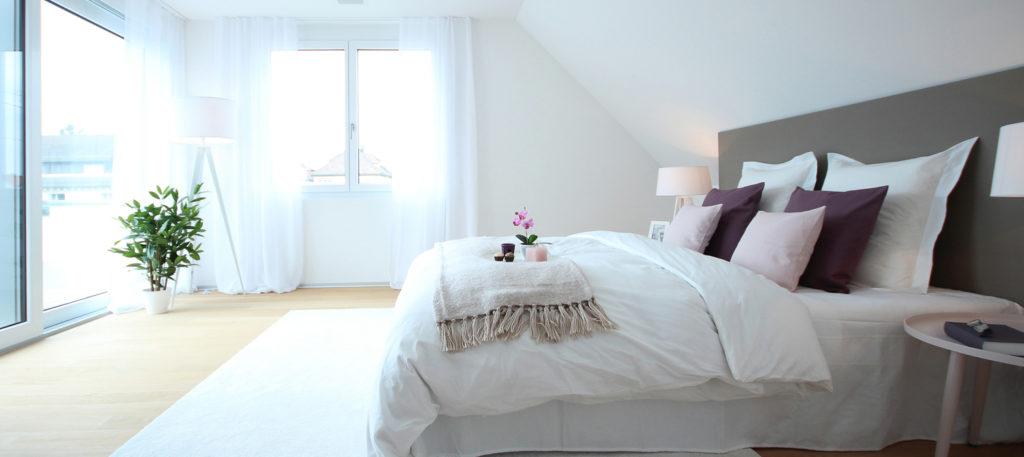 Schlafzimmer Home Staging Zürich
