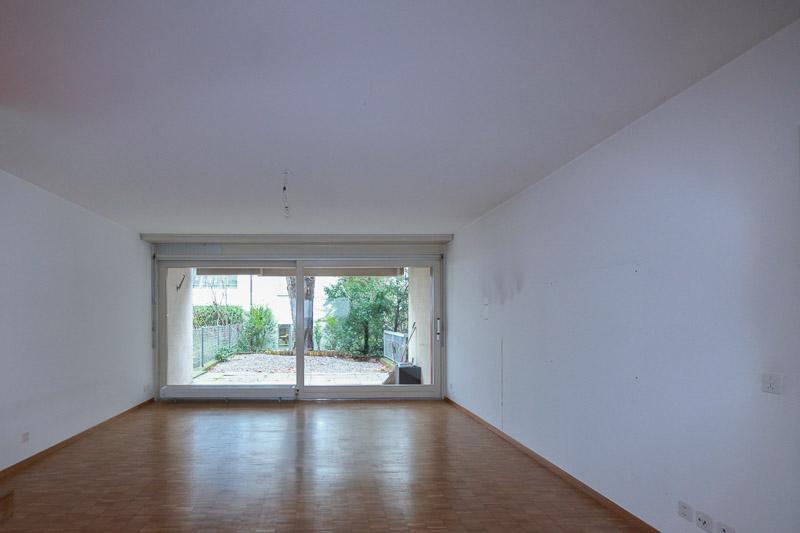 Projekte Wohnzimmer Mietwohnung vorher Aargau - Projekt der SWISS HOME STAGING