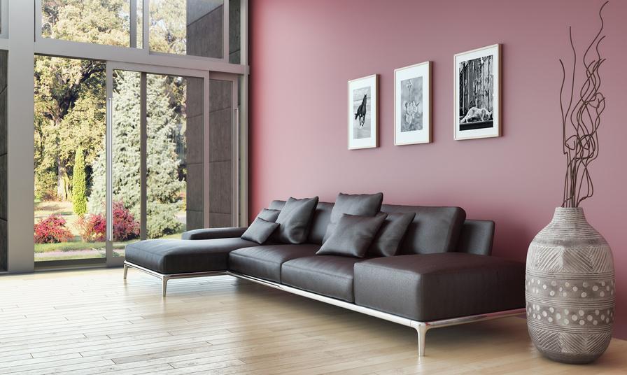 HOME STAGING nachher - ein modernes Wohnzimmer