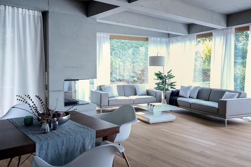 Was ist HOME STAGING Wohnzimmer nachher Basel - Projekt der SWISS HOME STAGING