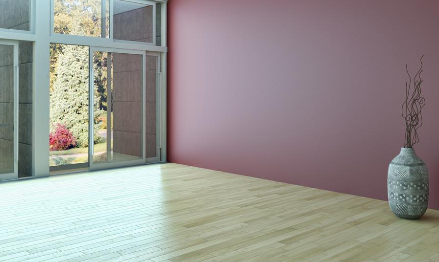 HOME STAGING vorher in Zürich - ein leerer Raum